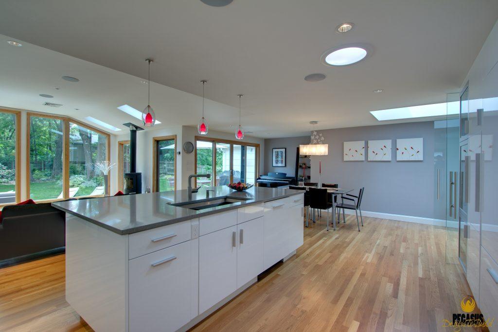 Contemporary European Kitchen Amp Living Space Pegasus