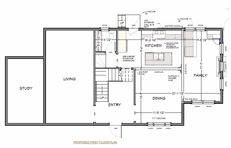 Sample Open Floor Plan Renovation